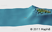 "Satellite Panoramic Map of the area around 12°22'13""S,43°25'29""E"