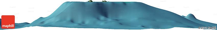 """Satellite Horizon Map of the Area around 12° 22' 13"""" S, 45° 7' 30"""" E"""