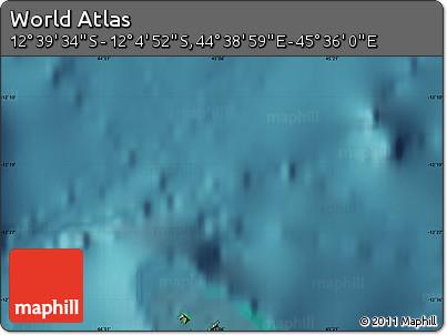 "Satellite Map of the Area around 12°22'13""S,45°7'30""E"