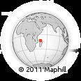 "Outline Map of the Area around 12° 22' 13"" S, 45° 58' 30"" E, rectangular outline"