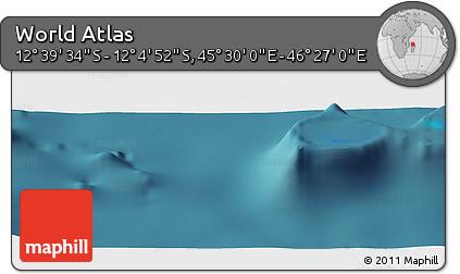 "Satellite Panoramic Map of the Area around 12°22'13""S,45°58'30""E"