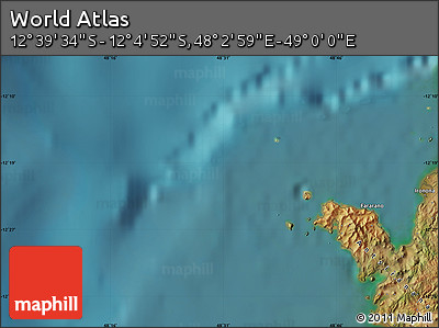 "Satellite Map of the Area around 12°22'13""S,48°31'29""E"