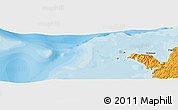 """Political Panoramic Map of the area around 12°22'13""""S,48°31'29""""E"""