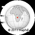 Outline Map of Cacande, rectangular outline