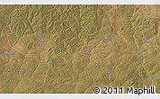 """Satellite 3D Map of the area around 12°53'15""""S,27°16'29""""E"""