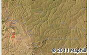 "Satellite Map of the area around 12°53'15""S,28°58'30""E"