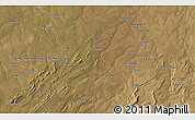 """Satellite 3D Map of the area around 12°53'15""""S,29°49'30""""E"""