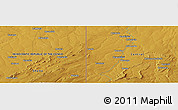"Physical Panoramic Map of the area around 12° 53' 15"" S, 29° 49' 30"" E"
