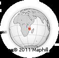 Outline Map of Marrupa, rectangular outline