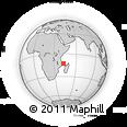 "Outline Map of the Area around 12° 53' 15"" S, 42° 34' 30"" E, rectangular outline"