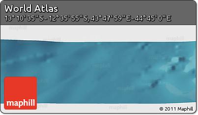 "Satellite Panoramic Map of the Area around 12°53'15""S,44°16'29""E"
