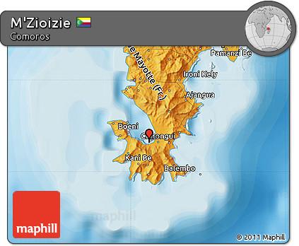 Political Map of M'Zioizie