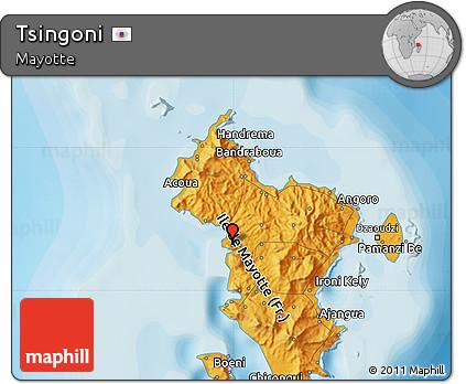 Political Map of Tsingoni