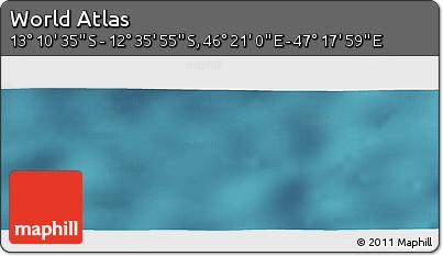 "Satellite Panoramic Map of the Area around 12°53'15""S,46°49'30""E"