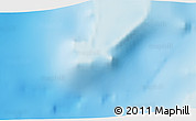 """Shaded Relief 3D Map of the area around 12°53'15""""S,47°40'29""""E"""