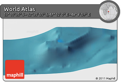 "Satellite Panoramic Map of the Area around 12°53'15""S,47°40'29""E"