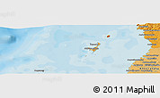 """Political Panoramic Map of the area around 12°53'15""""S,48°31'29""""E"""