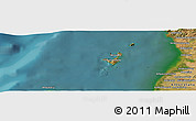 "Satellite Panoramic Map of the area around 12°53'15""S,48°31'29""E"