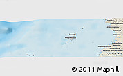 """Shaded Relief Panoramic Map of the area around 12°53'15""""S,48°31'29""""E"""