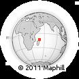 Outline Map of Bobasakoa, rectangular outline