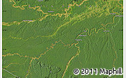 Satellite Map of Tambopata