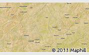 Satellite 3D Map of Bombanyenga