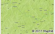 Physical Map of Diaka