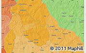 Political Map of Diaka
