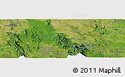 "Satellite Panoramic Map of the area around 13°13'56""N,102°4'29""E"