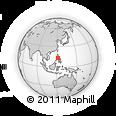 Outline Map of Pinamalayan, rectangular outline