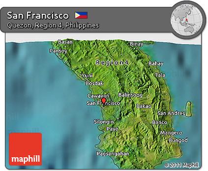 Free Satellite 3D Map of San Francisco