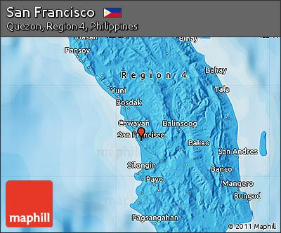 Free Political Map of San Francisco