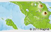 Physical 3D Map of Iriga
