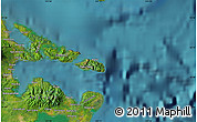 Satellite Map of San Andres