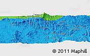 Political Panoramic Map of Dabat