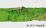 Satellite Panoramic Map of Dabat