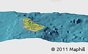 Satellite Panoramic Map of Bridgetown