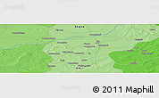 Political Panoramic Map of San