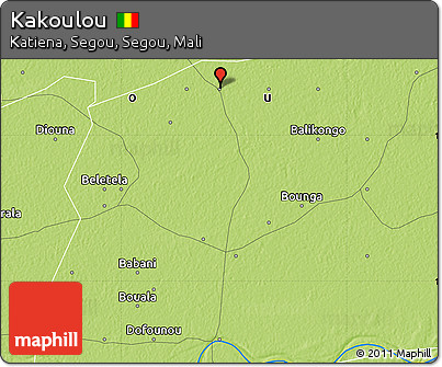 Free Physical Map of Kakoulou
