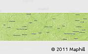 Physical Panoramic Map of Boulkènga