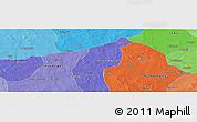Political Panoramic Map of Boulkènga