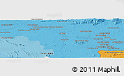 """Political Panoramic Map of the area around 13°44'54""""N,102°4'29""""E"""