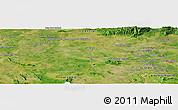 "Satellite Panoramic Map of the area around 13°44'54""N,102°4'29""E"