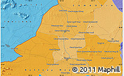 Political Map of Phumĭ Kon Trei