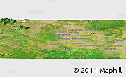 Satellite Panoramic Map of Koŭk Préch