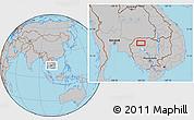 Gray Location Map of Phumĭ Dângkiĕb Kdam (1)