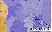 Political Map of Phumĭ Bântéay Srei