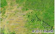 Satellite Map of Phumĭ Bântéay Srei