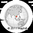 Outline Map of Phumĭ Préal, rectangular outline