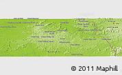 Physical Panoramic Map of Lumphăt